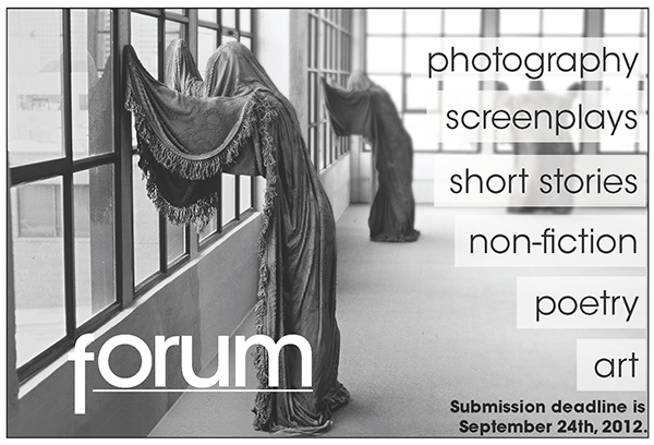 CCSF Forum Magazine Call For Submissions cover photo
