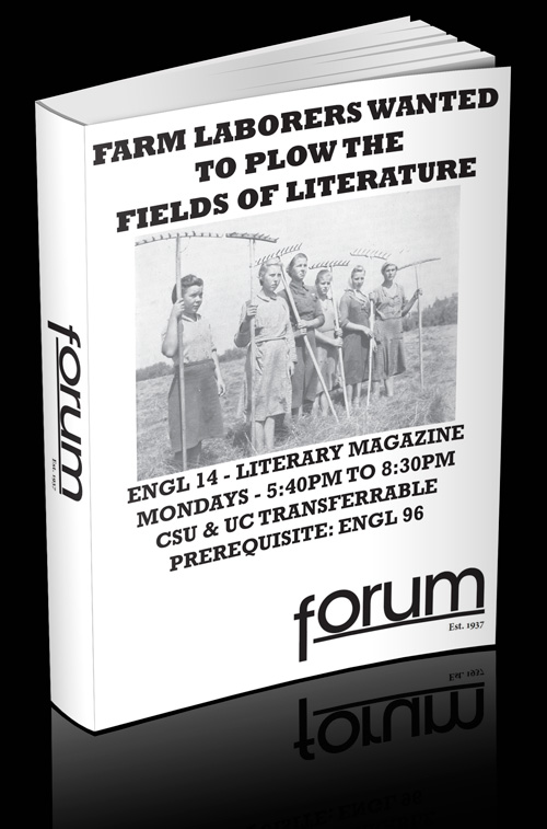 City College San Francisco Forum Literary Magazine