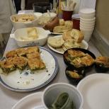 Tasty snacks courtesy of Katerina Argyyles