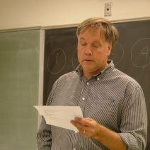 John Isles reading from the work of Mark Dulman