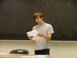 """Jordy Lynch reading """"Holding Up the Circle"""""""