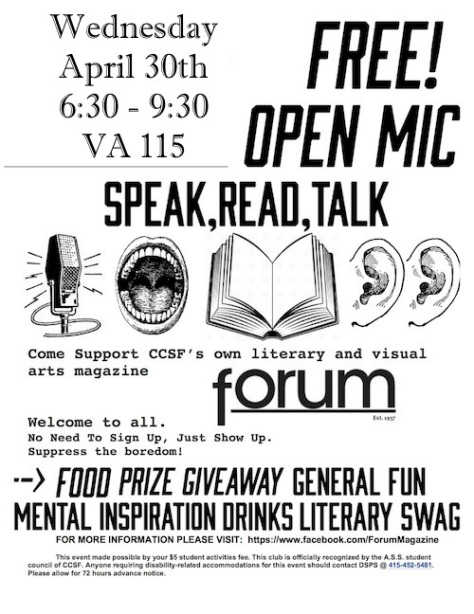Open Mic Flyer Small copy