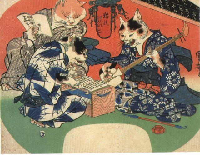 Japanese Traditional Furry Art - Source: http://commons.wikimedia.org/wiki/File:Japanese_traditional_furry_art1.jpg