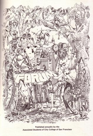 Forum (1968) frontispiece.