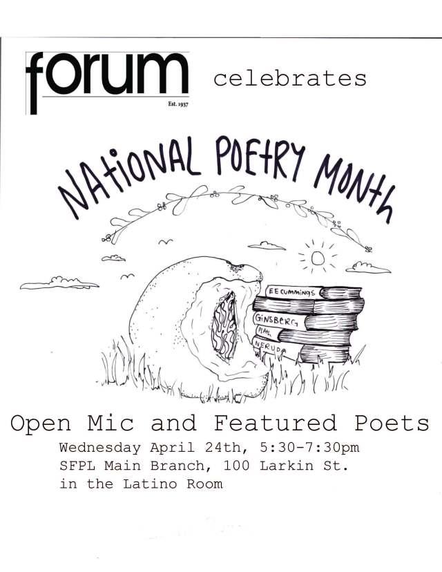 SFPL event poster