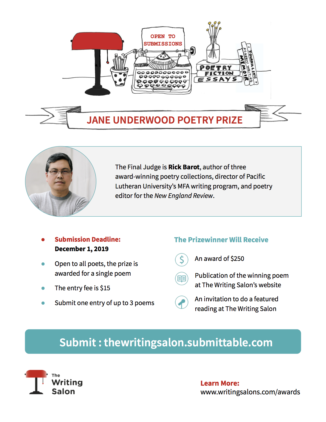 Submission Flyer - JU Poetry Prize copy