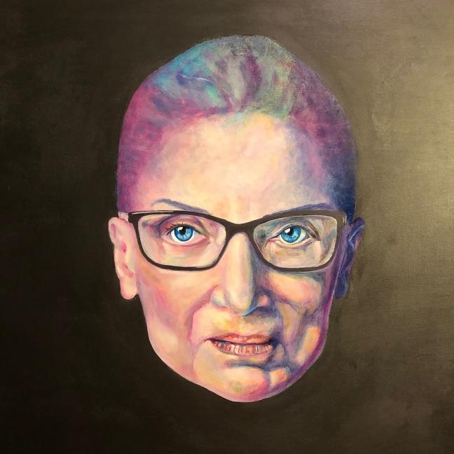 Ruth Bader Ginsburg_Visual Arts_Acrylic