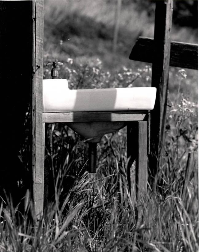 Sink On Farm_Visual Arts_Photography